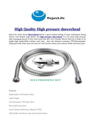 High Quality High pressure showerhead