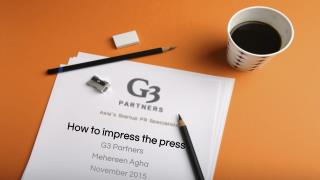 How to Impress the Press & Generate Media Coverage for Your Startup