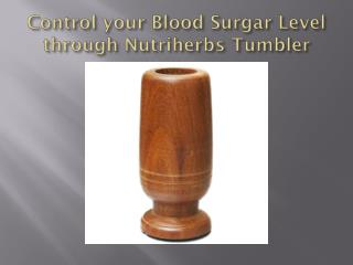 Control Your Blood Sugar Level through Ayurveda