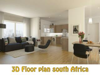 3D Floor plan south Africa