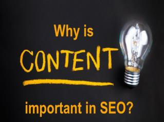 Content | Its importance in SEO