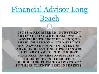 Financial Planners Orange County