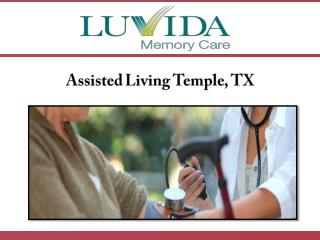 Assisted Living Temple, TX