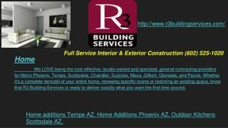 Home Additions, Outdoor Kitchens, Custom Home Builders, General Contractor, Roofing and Bathroom remodeling Tempe, Phoen