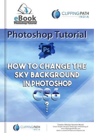 How to Change the Sky Background in Photoshop CS6
