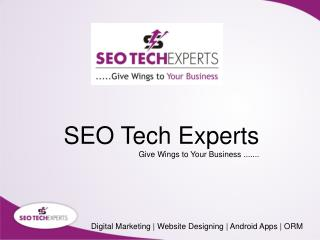 Digital Marketing Agency in Gurgaon | Topmost SEO Company in India - SEO Tech Experts