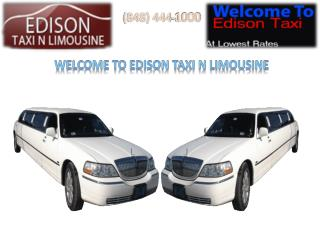 Hiring Taxi Services in Edison