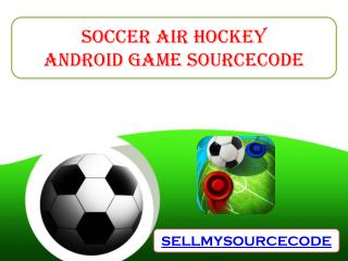 Soccer Air Hockey Android Game Sourcecode