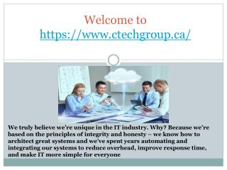 It consulting in calgary