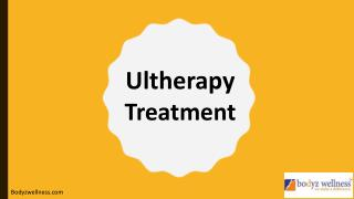 Ultherapy Treatment in Mumbai
