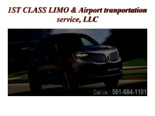 Limo, SUV, Town Car Transportation and Air Port Car Service West Palm Beach FL