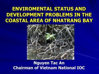 ENVIROMENTAL STATUS AND DEVELOPMENT PROBLEMS IN THE COASTAL AREA OF NHATRANG BAY Nguyen Tac An Chairman of Vietnam Natio