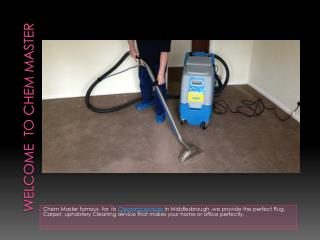 Commercial Carpet Cleaning Middlesbrough