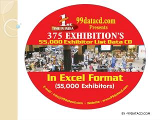 Buy Exhibitor database for business growth