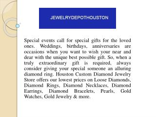 Elegant Diamond Rings Houston