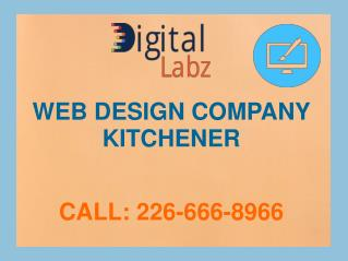 Web Design & Mobile App Development Company in Kitchener – Digital Labz