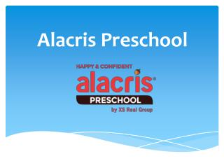 Preschool in Chennai - Alacris