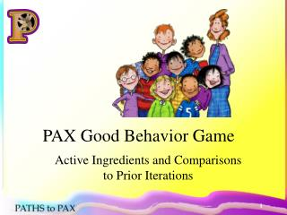 PAX Good Behavior Game