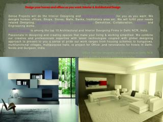 Best Construction and Architectural Company in Delhi