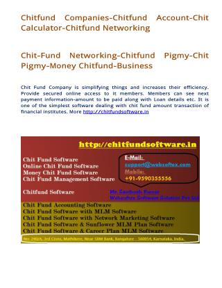 Chit Fund Network Marketing Software, Chit Fund Sunflower Mlm Software, Chit Fund Career Mlm Software.pdf