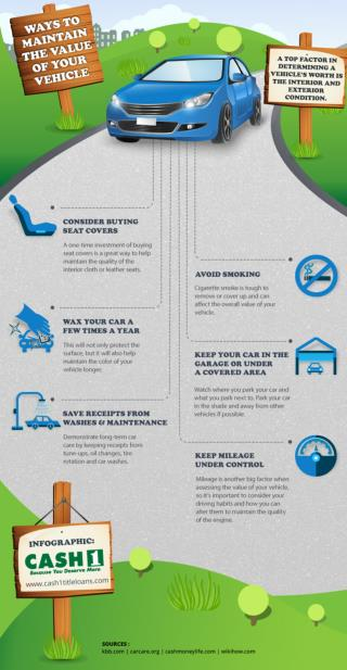 How to Maintain the Value of Your Vehicle [INFOGRAPHIC]