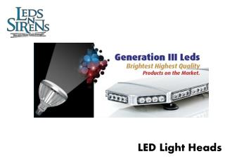 led light heads