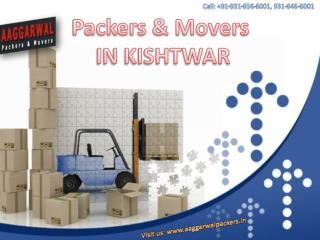 Easy Relocation with Packers & Movers in KISHTWAR, Jammu