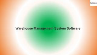Best Warehouse Management System Service
