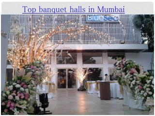 Top banquet halls in Mumbai