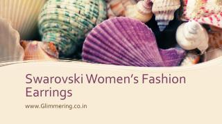 Swarovski Womens Fashion Earrings