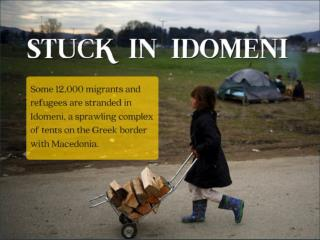 Stuck in Idomeni