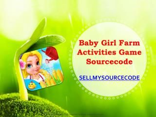 Baby Girl Farm Activities Game Sourcecode
