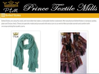 Boiled Stoles Manufacturer in India