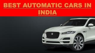Best Automatic Cars in India 2016