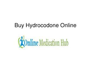 Order Hydrocodone Online