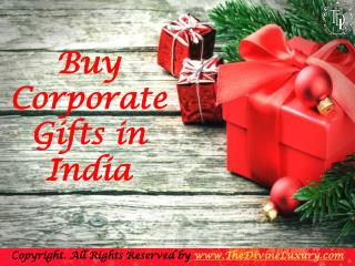 Best Corporate Gifts in India