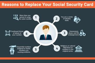 Reasons to Replace Your Social Security Card