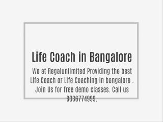Life Coach in Bangalore