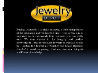Quality Diamond Ring In Houston
