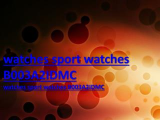 watches sport watches B003A2IDMC