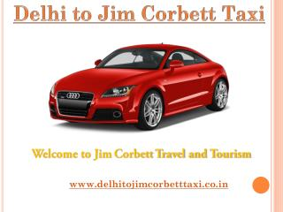 Taxi Form Delhi to Jim Corbett | cab | Delhi to Jim Corbett Taxi