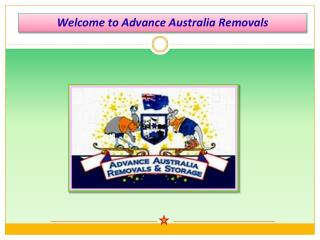 Furniture Removals in Sydney | Advance Australia Removals