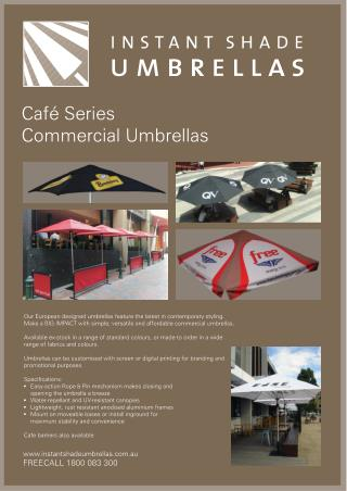 Customised Corporate Umbrellas for your Organization