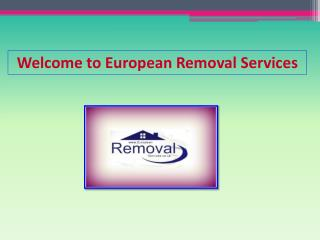 Removals to Germany | European Removals Services