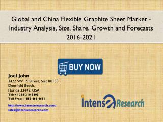 Global and China Flexible Graphite Sheet Market : Industry Size, Share, Analysis, Segmentation and Forecasts 2021