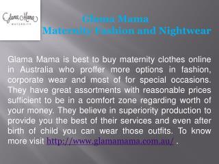 Glama Mama- Maternity Jeans Online