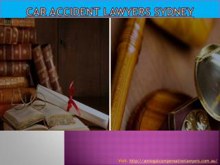 Car accident lawyers Sydney