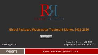 Packaged Wastewater Treatment Market Trends, Challenges and Growth Drivers Analysis 2020