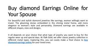 Buy diamond earrings online , Buy diamond earrings online in UK