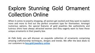 buy gold jewellery online, buy gold jewelry online